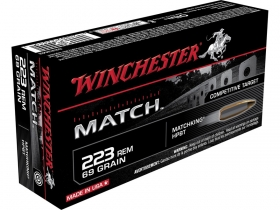 Winchester Match .223 Remington Streljivo