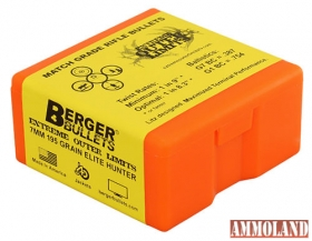 Berger Bullets 7mm EOL Elite Hunter zrno