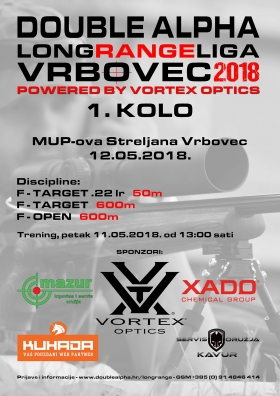 Double Alpha Long Range liga Vrbovec 2018.